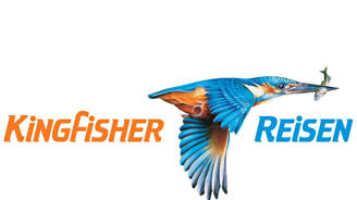 Kingfisher reisen's logo
